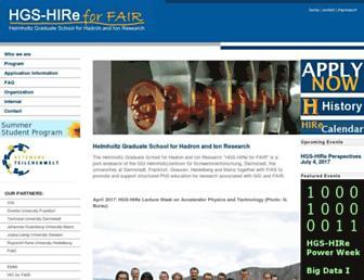 hgs-hire.de screenshot