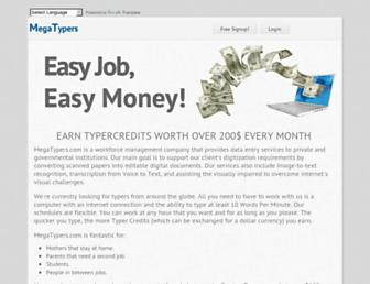Thumbshot of Megatypers.com