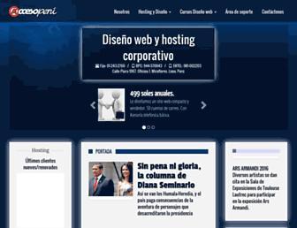 accesoperu.com screenshot