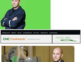 cnccookbook.com screenshot