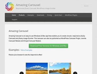 Thumbshot of Amazingcarousel.com