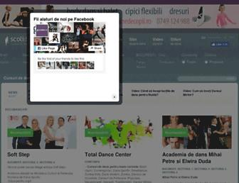 scolidans.ro screenshot