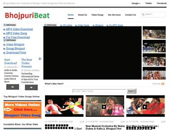 bhojpuribeat.com screenshot