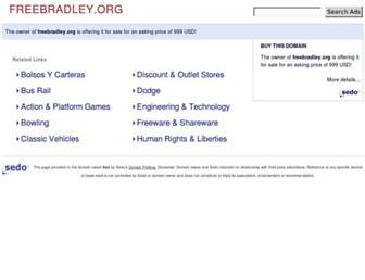 Thumbshot of Freebradley.org
