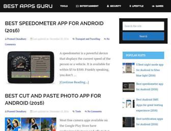 bestappsguru.com screenshot