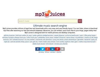 mp3-juices.com screenshot