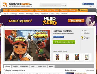 subway-surfers.browsergames.pl screenshot