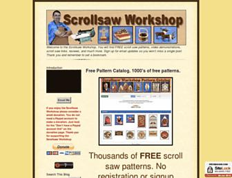 scrollsawworkshop.blogspot.com screenshot