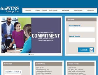 amwins.com screenshot