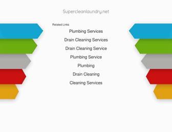supercleanlaundry.net screenshot