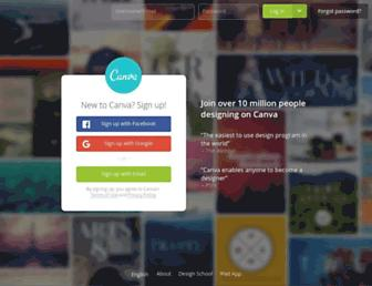 Thumbshot of Canva.com