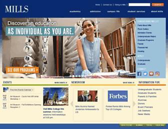 Thumbshot of Mills.edu