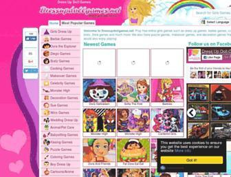 Fullscreen thumbnail of dressupdollgames.net
