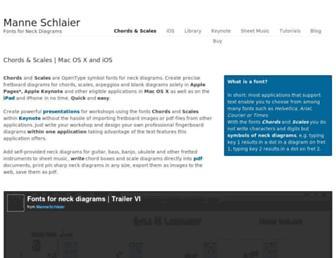 manneschlaier.com screenshot
