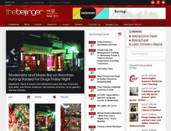thebeijinger.com screenshot