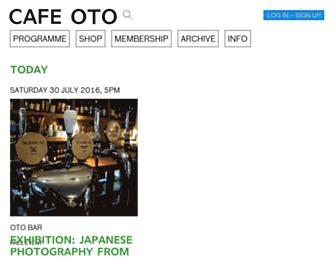 cafeoto.co.uk screenshot