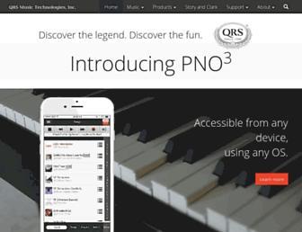qrsmusic.com screenshot