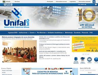 Thumbshot of Unifal-mg.edu.br