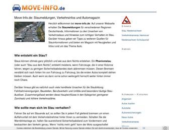 Main page screenshot of move-info.de