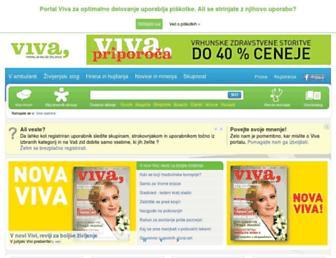 viva.si screenshot