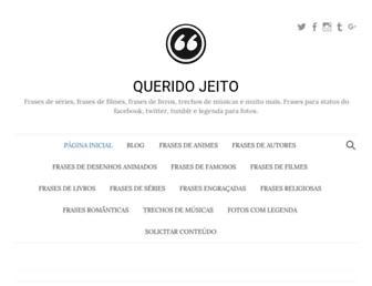 queridojeito.com screenshot