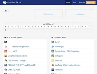 appsfinder.net screenshot