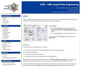 uwe.pst.ifi.lmu.de screenshot