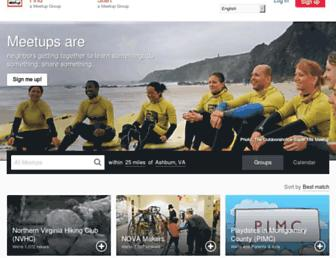 meetup.com screenshot