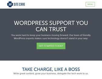 Thumbshot of Wpsitecare.com