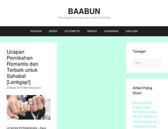 baabun.com screenshot