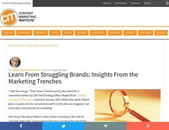 contentmarketinginstitute.com screenshot