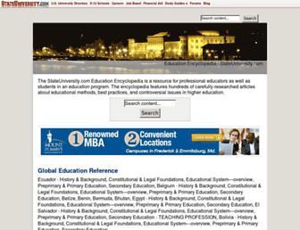 education.stateuniversity.com screenshot