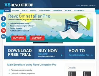 revouninstaller.com screenshot