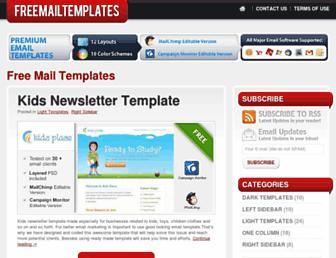 Thumbshot of Freemailtemplates.com