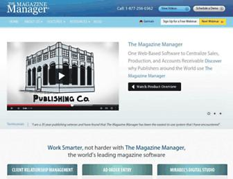 Thumbshot of Magazinemanager.com