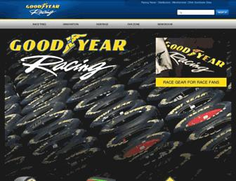racegoodyear.com screenshot