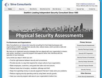 silvaconsultants.com screenshot