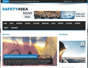 safety4sea.com screenshot