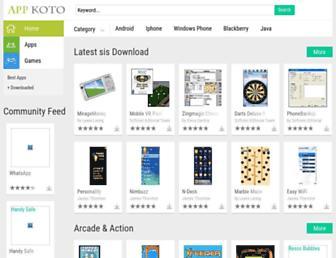 symbian.appkoto.com screenshot