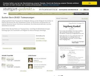 Thumbshot of Stuttgart-gedenkt.de