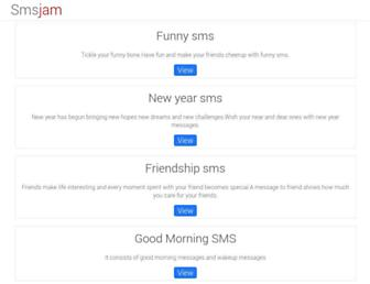 smsjam.com screenshot