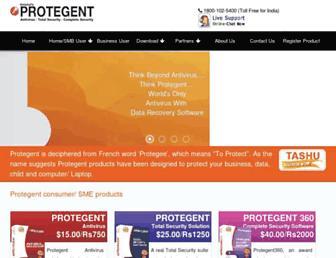 protegent360.com screenshot