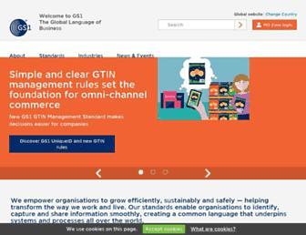 gs1.org screenshot