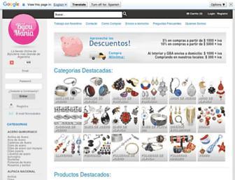 bijoumania.com screenshot