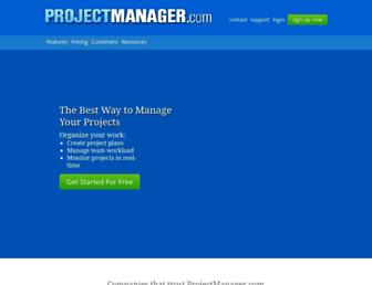 projectmanager.com screenshot