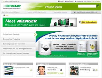 praxairdirect.com screenshot