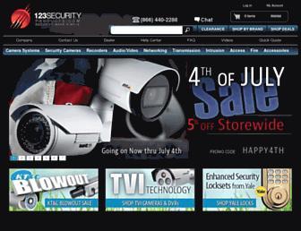 123securityproducts.com screenshot