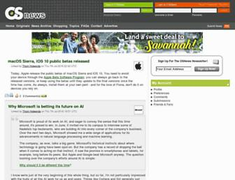 osnews.com screenshot