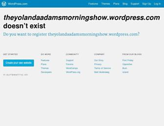 Thumbshot of Theyolandaadamsmorningshow.com