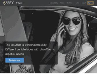 Thumbshot of Cabify.com